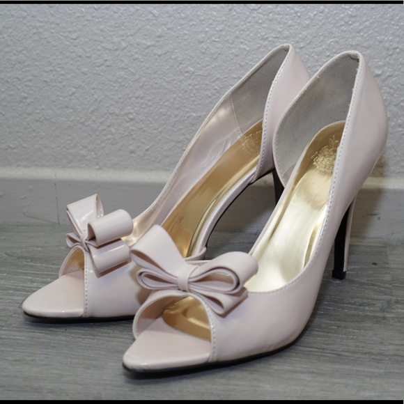 1f2a456b15a Cape Robbin Shoes - LIKE NEW ⚡️D orsay peep toe bow pumps Cape Robbin
